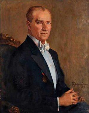 Feyhaman Duran'ın Atatürk Portresi - 1937