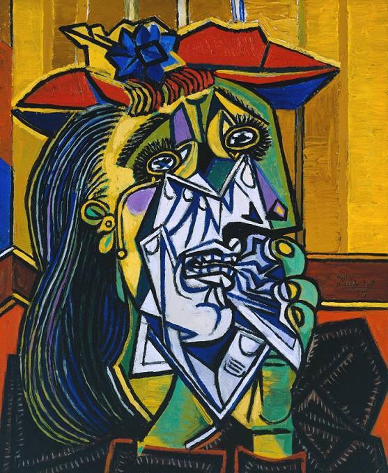 Ağlayan Kadın, 1937 yılında Pablo Picasso tarafından yapılmış yağlı boya tablo.