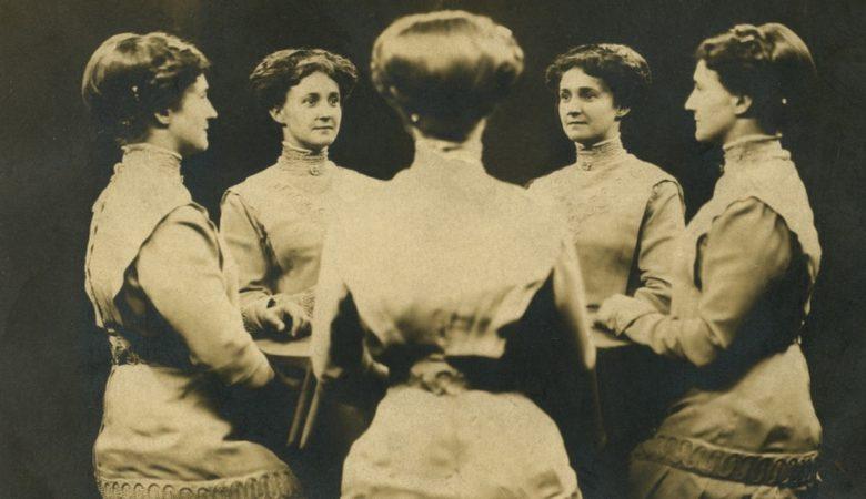 19. yüzyıldan kalan aynalarla 360° portreler