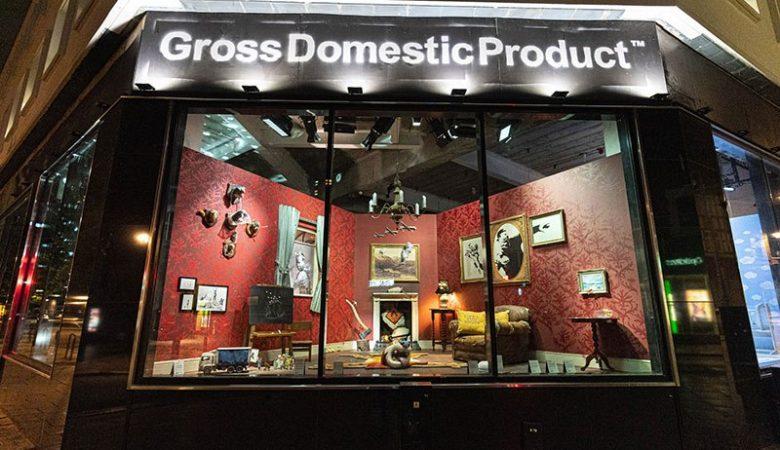 Banksy Londra'da Ziyarete Kapalı Dükkan Açtı