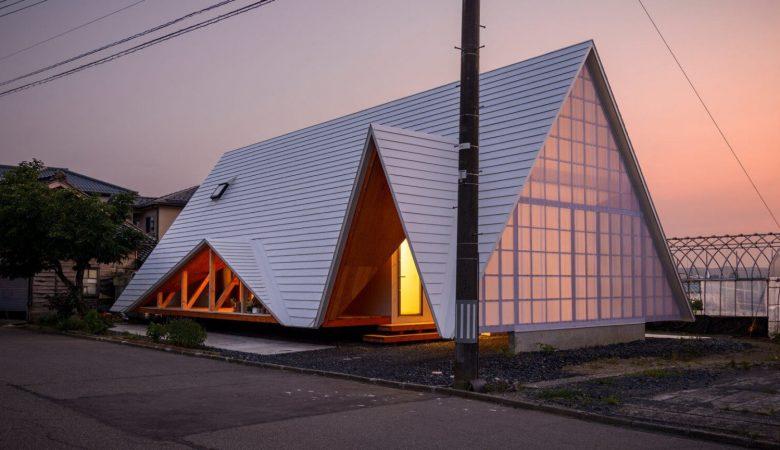 Takeru Shoji Architects, tarafından tasarlanan minimalist Japon evi