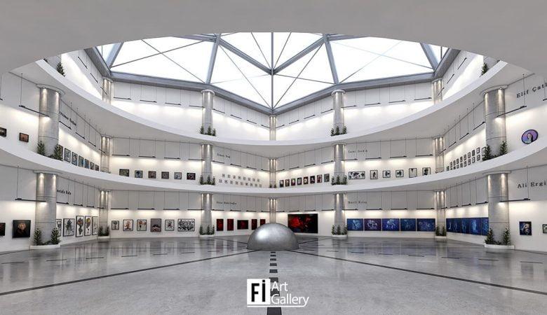 """Fi Art Gallery, 360 VR Sergisi: """"12 Dilimlik Döngü"""" ile Açılıyor!"""