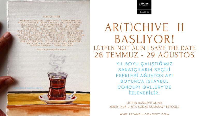 Istanbul Concept Gallery'den Yaz Sergisi: Ar(t)chive II