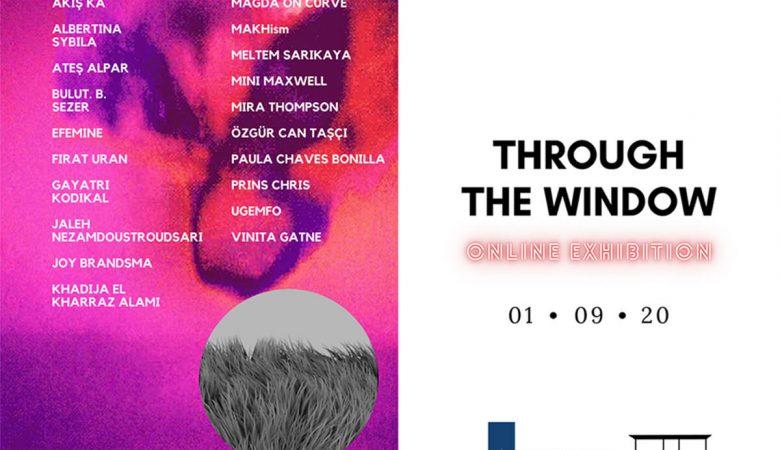 """Queer Sanatçılardan 1 Eylül Dünya Barış Gününde Sergi: """"Through The Window"""""""