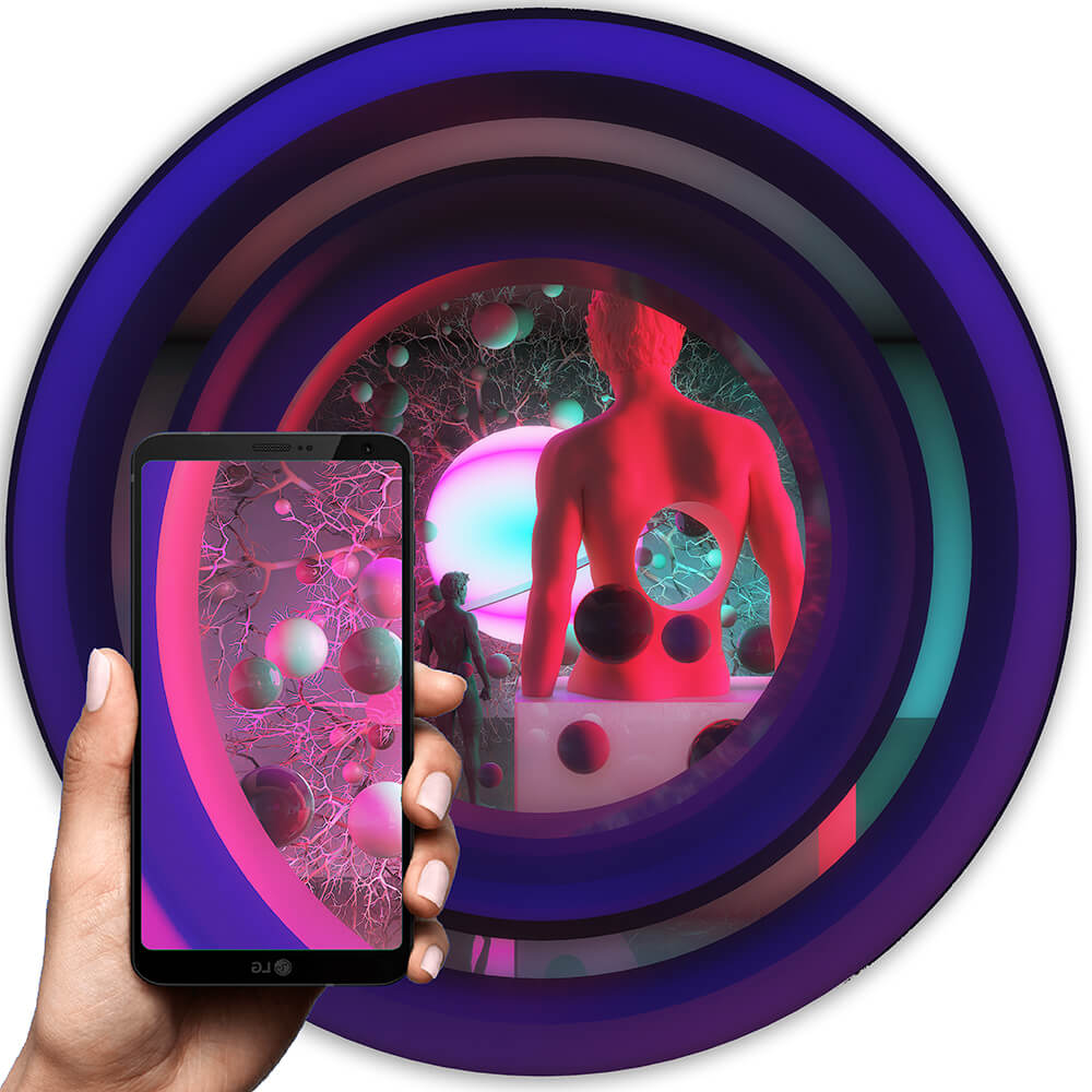 ahmet rustem ekici augmented reality art artitrilmis gerceklik sanat lumion art 3ds max cinema4d digital art lgbt art