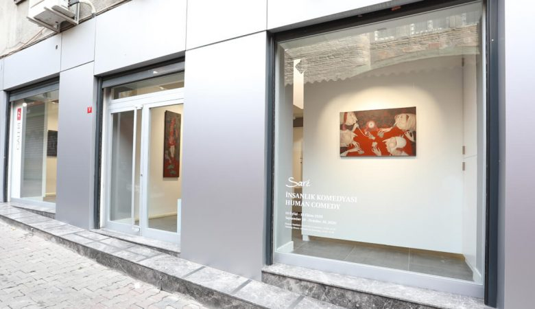 Evgenia Sarkissian Türkiye'deki İlk Kişisel Sergisi Galeri 77'de