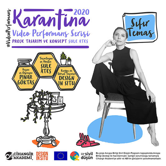 Yeni Dijital Tiyatro Araştırması: Karantina2020 – Video Performans Serisi
