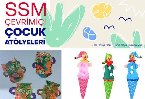 SSM'de Çevrimiçi Çocuk Atölyeleri Başlıyor