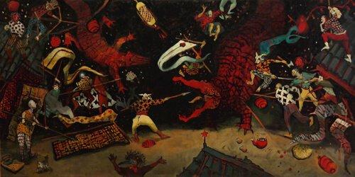 Su Alara Acerol'un İlk Kişisel Sergisi: Hic Sunt Dracones/Burada Ejderhalar Var!