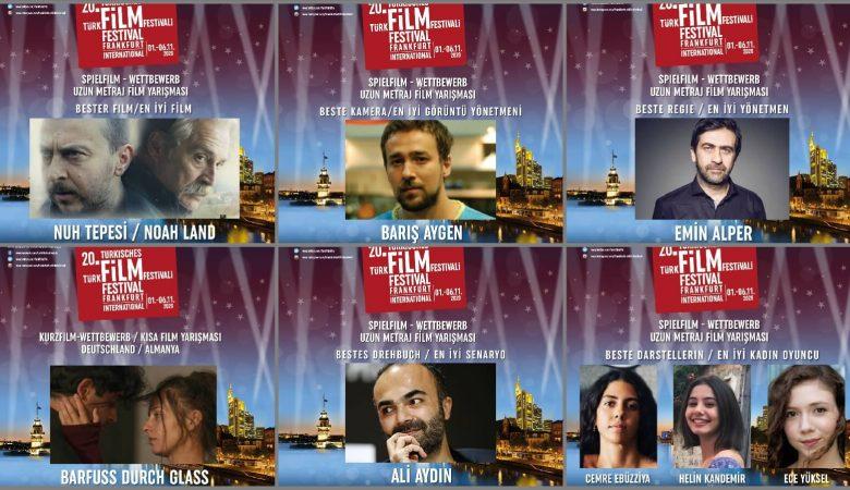 20. Uluslararası Frankfurt Türk Film Festivali'nin Kazananları Belli Oldu!