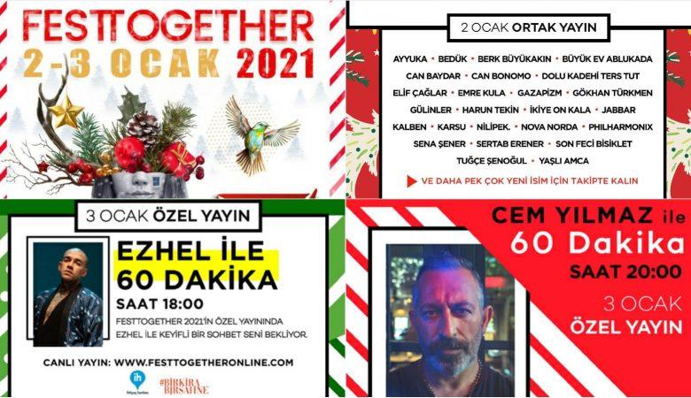 Yeni Yılın İlk Festivali Festtogether'dan Sanat Emekçilerine Destek