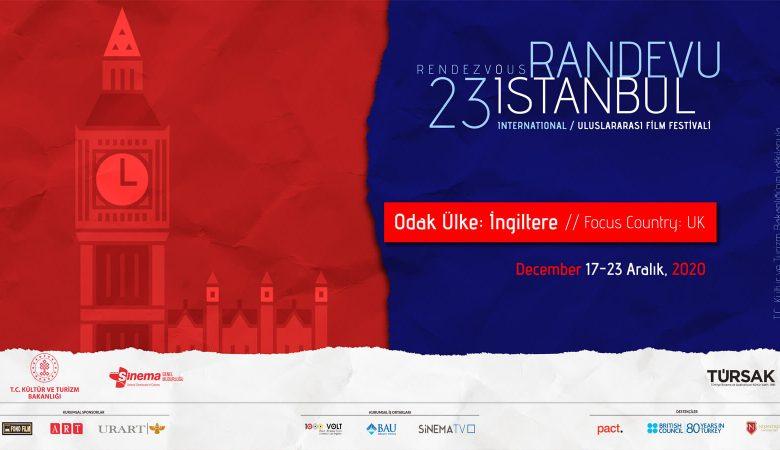 Randevu İstanbul 23. Yılında İngiltere'yi Konuk Ediyor