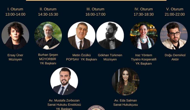 """Türkiye'de İlk Kez Hukukçular ve Sanatçılar """"Hukuk ve Sanat Zirvesi""""nde Bir Araya Geliyor"""