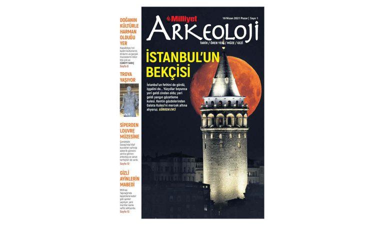 Milliyet Arkeoloji Dergisi Yayın Hayatına Başlıyor