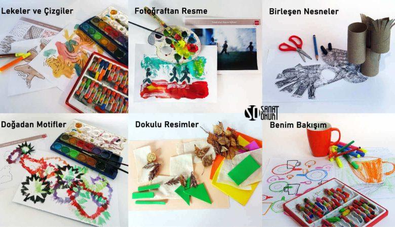 Çocuklar Bu Yaz Sanatla Çevrimiçi Buluşuyor