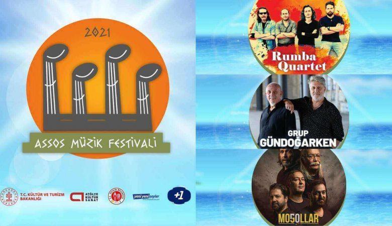 Assos Müzik Festivali Başlıyor, Tarih ve Doğa Müzik İle Buluşuyor!