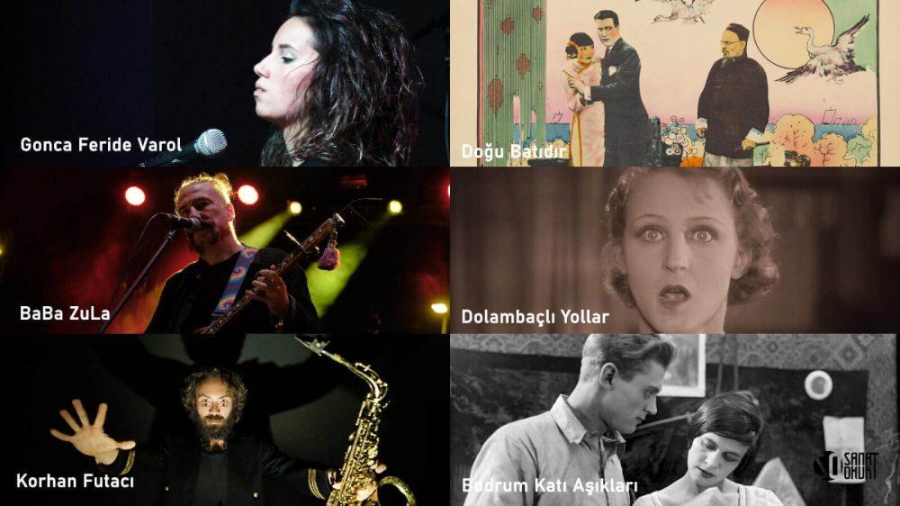 Açık Havada Usta Müzisyenlerin Canlı Performansı Eşliğinde Sessiz Filmler Beykoz Kundura'da