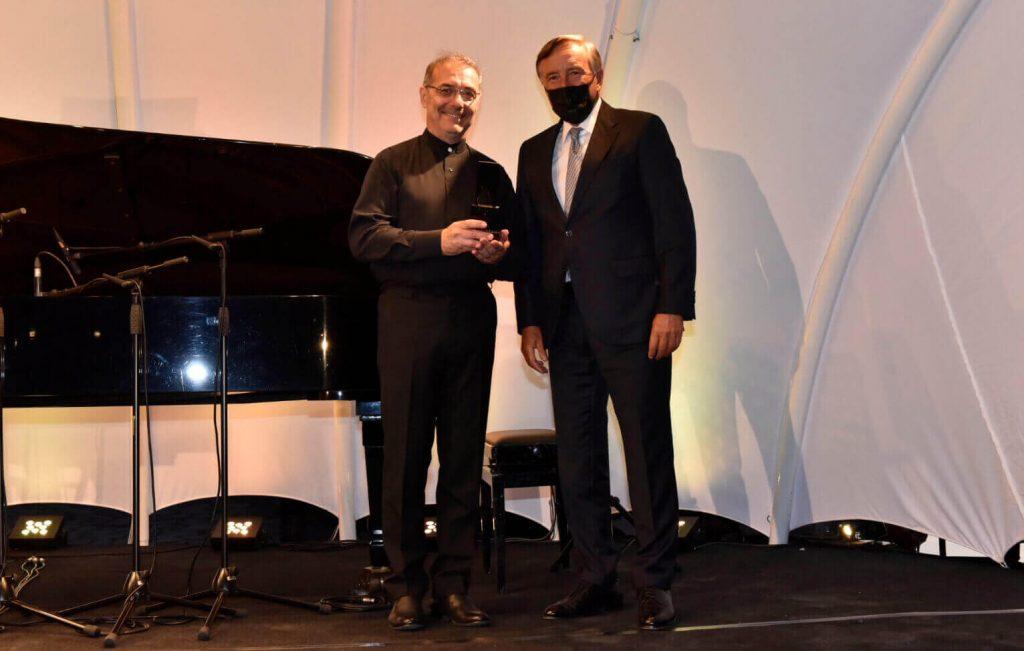 İstanbul Müzik Festivali 2020 Yılı Yaşam Boyu Başarı Ödülü Alexander Rudin'e Sunuldu