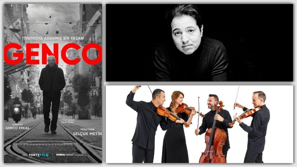 """""""Genco"""" , """"Fazıl Say"""" ve """"Borusan Quartet"""" ENKA Açıkhava Tiyatrosu'nda"""