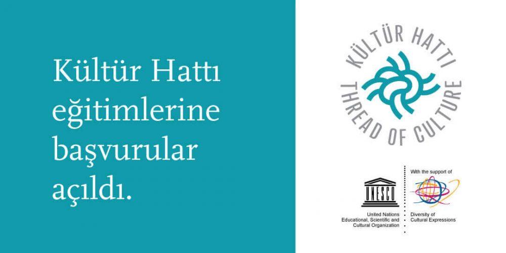 """""""Kültür Hattı"""" Eğitimlerine Başvurular Açıldı!"""