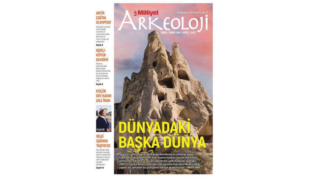Milliyet Arkeoloji Dergisi Tarih ve Kültürü Bir Araya Getiriyor