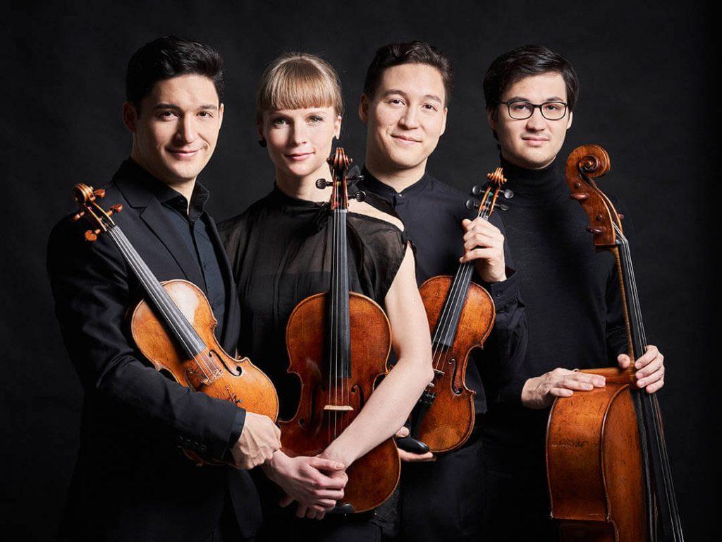 AGORA'da Oda Müziği: Schumann Quartet İzmir Agora'da Çalacak