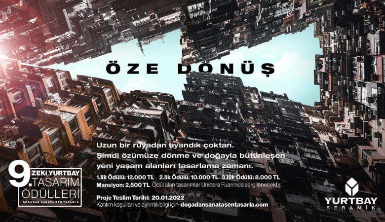 9. Zeki Yurtbay Tasarım Ödülleri Heyecanı Başlıyor!