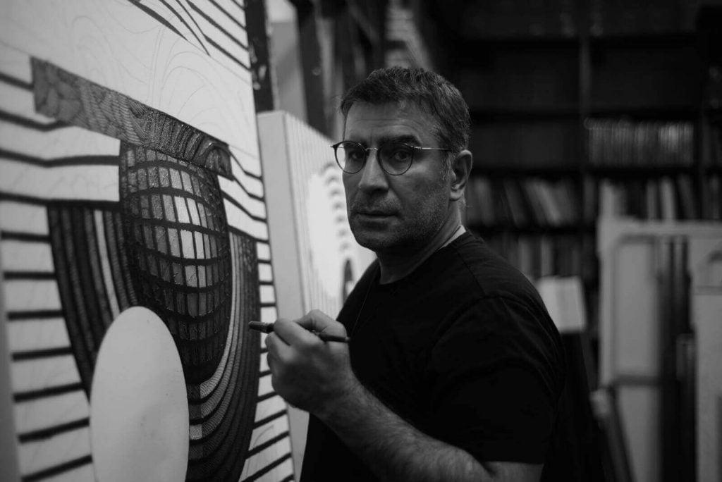 Ahmet Güneştekin'in Hafıza Odası Sergisi Diyarbakır, Keçi Burcu'nda