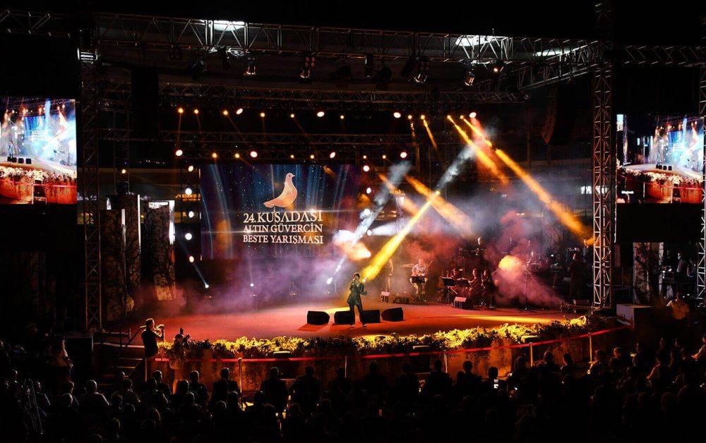 Altın Güvercin'de Birinciliği Hande Kodamanoğlu'nun Bestesi 'Sevgilim' Kazandı