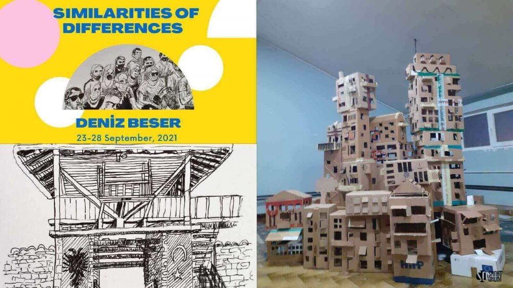 Deniz Beşer'in READ Sanatçı Konaklama Programı Kapsamında Sergisi Açıldı