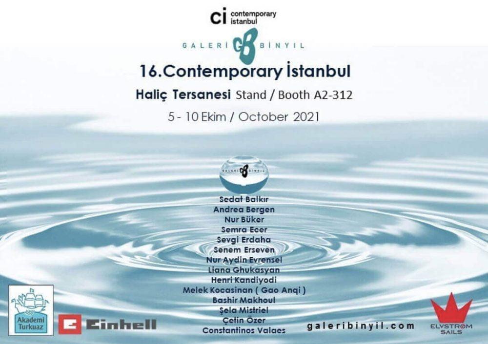 Galeri Binyıl Contemporary Istanbul'da
