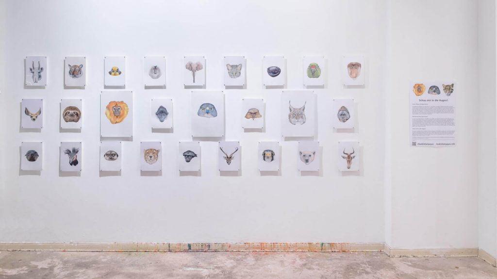 """Sanatçı Sencer Vardarman'ın """"Gözlerime Bak"""" Projesi Şimdi Berlin'de"""