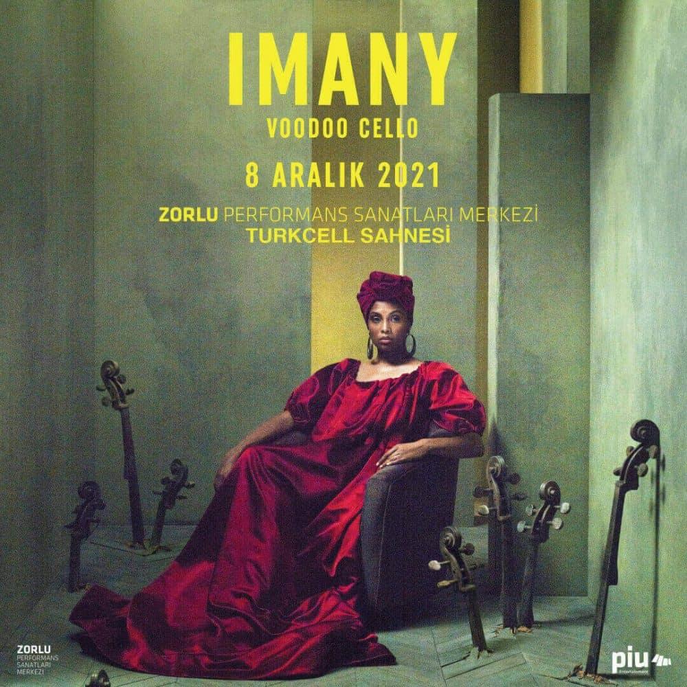 Soul Müziğin Fransız Divası IMANY Yeni Albümüyle İlk Kez Zorlu PSM'de