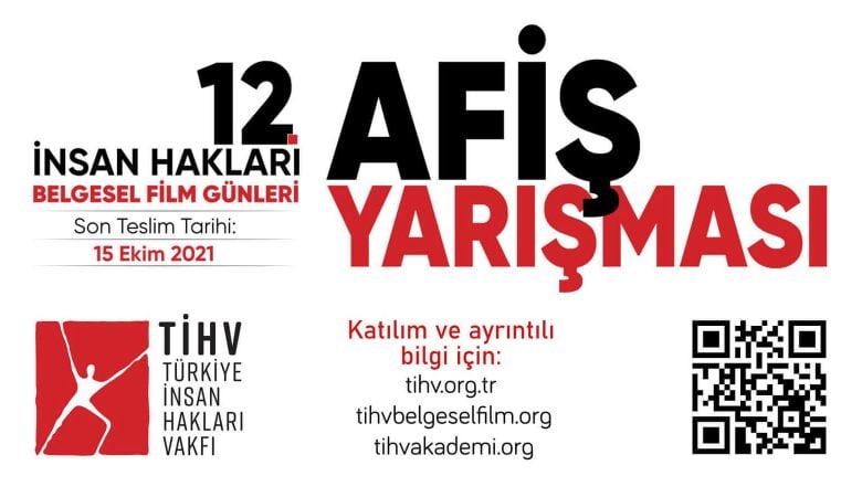 12. İnsan Hakları Belgesel Film Günleri Afiş Yarışması İçin Açık Çağrı!