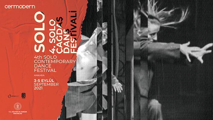 4. Uluslararası SOLO Çağdaş Dans Festivali, CerModern'de Başlıyor