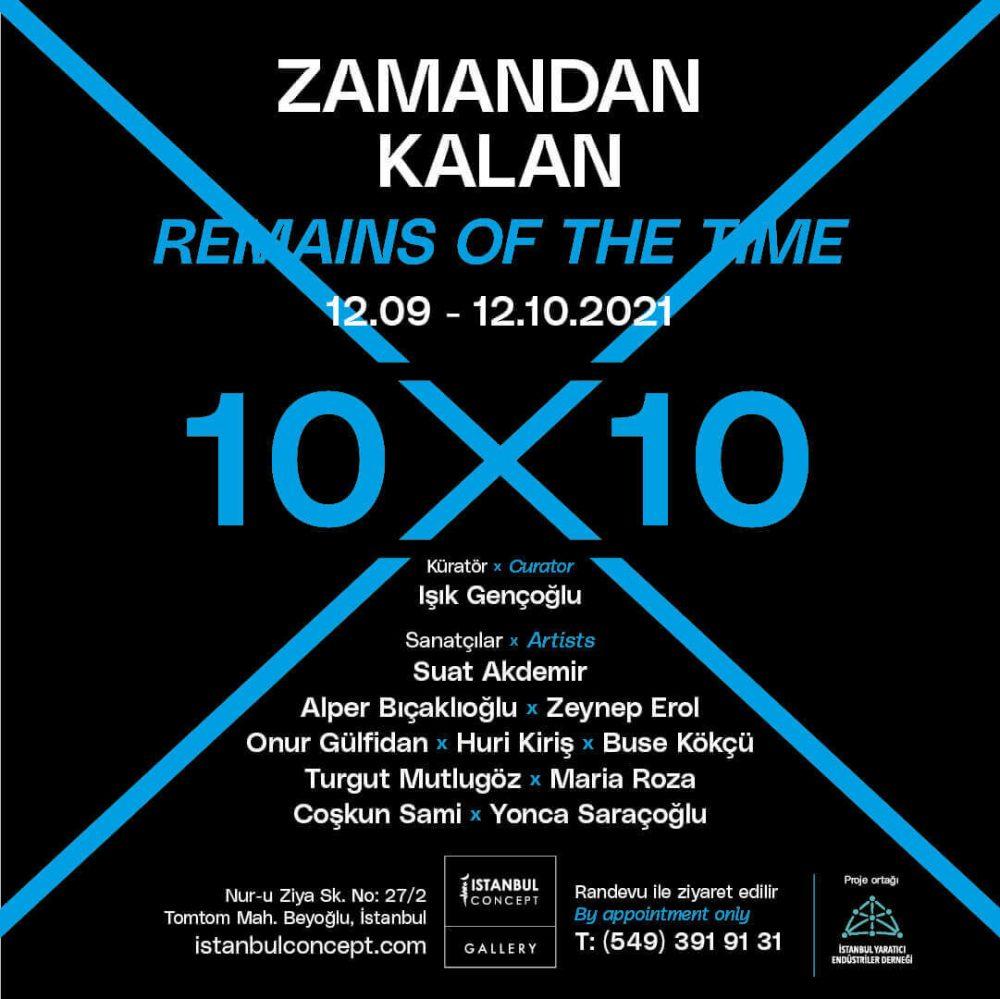 "Istanbul Concept Gallery'de ""Zamandan Kalan"" Sergisi"