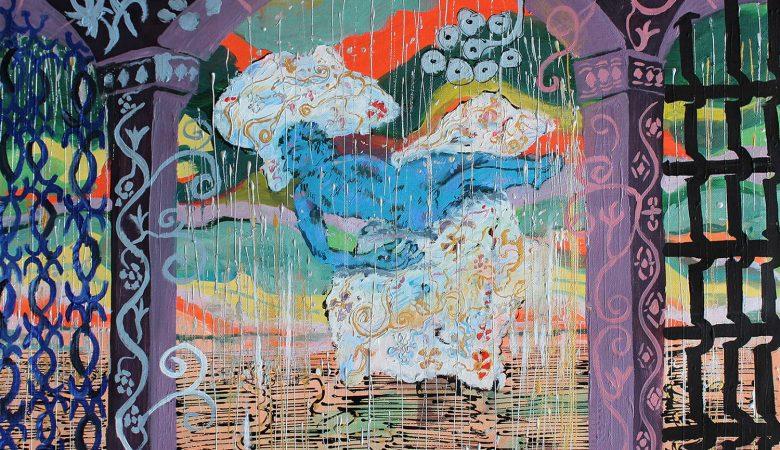Bawer Doğanay Bir Bulut İçinde Yaşıyorum, 2021 Tuval üzerine akrilik 61 x 46 cm
