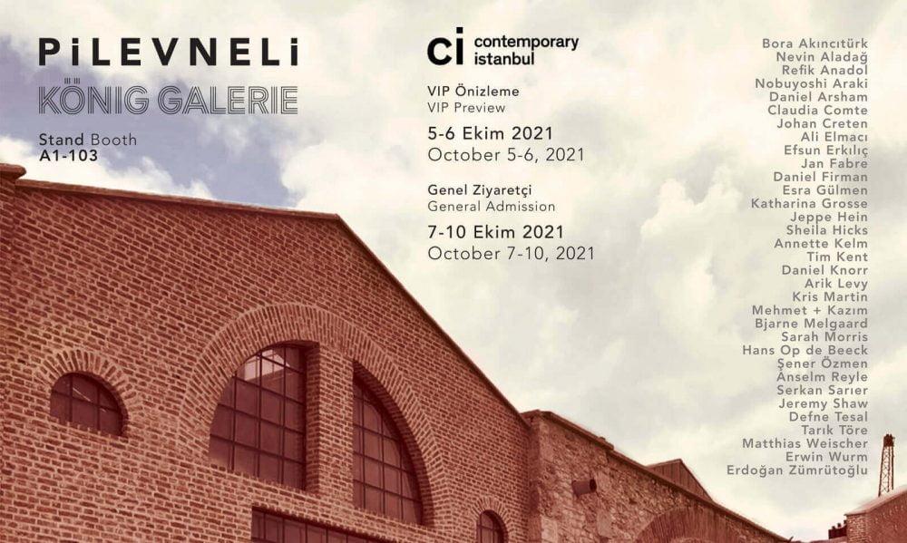 Pilevneli & König Galerie Ortaklaşa Contemporary İstanbul'da